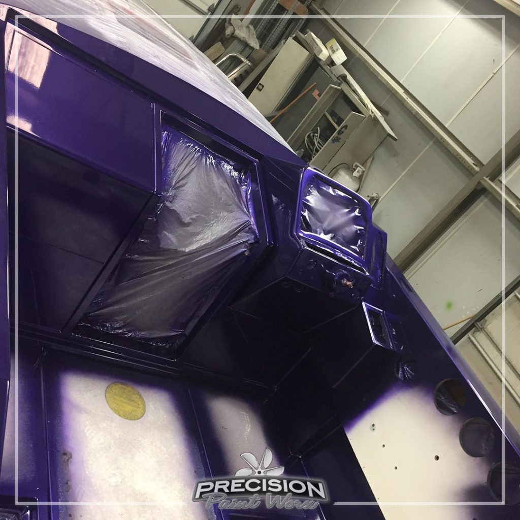 The Wingate 280 Baja   Painted by: Precision Paint Worx