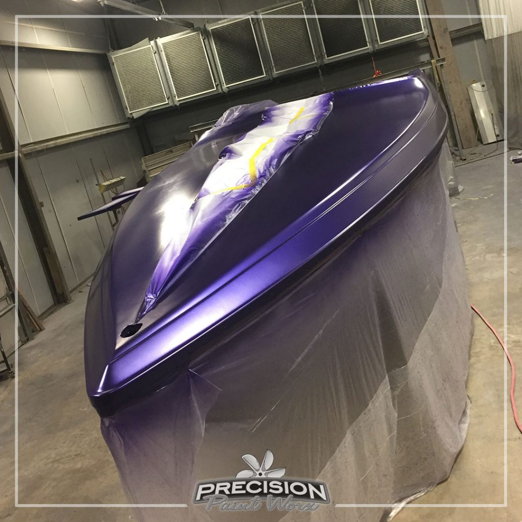 The Wingate 280 Baja | Painted by: Precision Paint Worx
