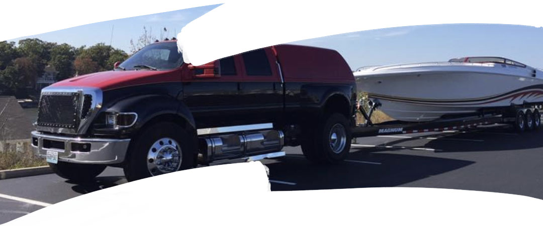 The Ford F650 Fountain Hauler | Painted By: Precision Paint Worx