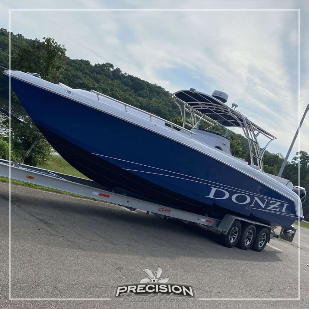 The Donzi | Painted by: Precision Paint Worx