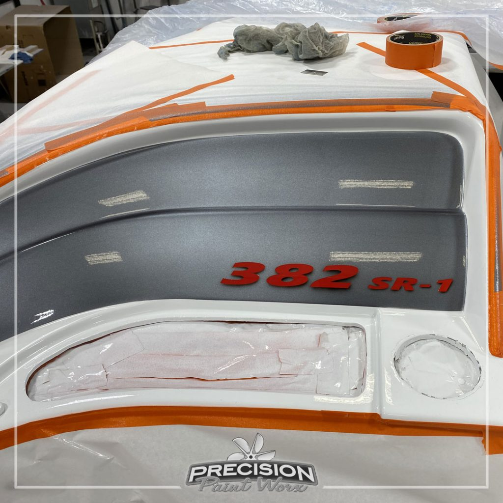 The 38 Formula SR1 | Painted by: Precision Paint Worx